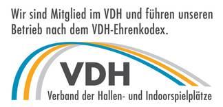 Mitglied des VDH - Verband der Hallen- und Indoorspielplätze